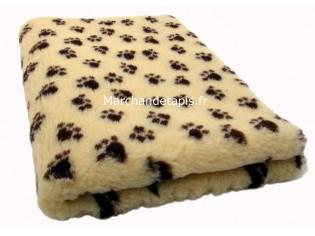 Tapis chien Drybed® antidérapant MAÏS + PATTES CHOCOLAT