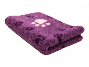 Tapis chien Drybed® antidérapant PARME GROSSES PATTES BLANCHES