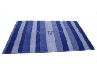 Tapis chien Drybed® antidérapant RAYURES BLEUES