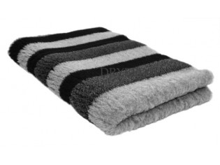 Tapis chien Drybed® antidérapant RAYURES GRISES