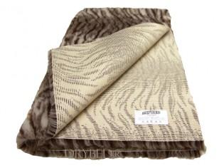 Tapis chien Drybed® antidérapant Tigre Magnolia et Chocolat