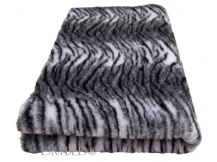 Tapis chien Drybed® antidérapant Tigre Blanc et Noir