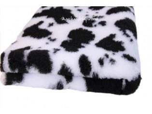 Tapis chien Drybed® antidérapant VACHE NOIR ET BLANC