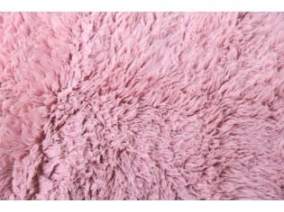 Flokati pure laine vierge 150cmx200cm- 2000gr- Rose