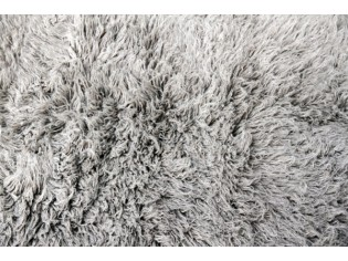 Flokati pure laine vierge 150cmx240cm- 2000gr- Gris