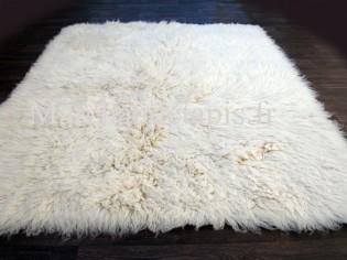 Flokati pure laine vierge 200cmx200cm - 2000gr