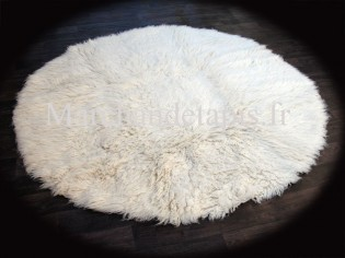 Flokati pure laine vierge 200cm Rond - 1000gr