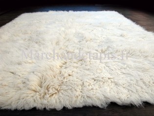 Flokati pure laine vierge 240cm x 340cm - 3000gr