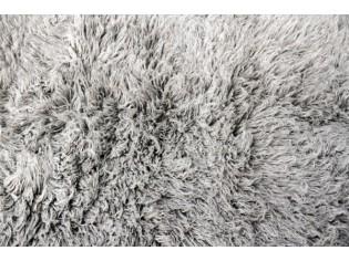Flokati pure laine vierge 90cmx150cm- 2000gr- Gris