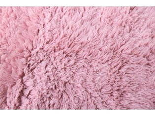 Flokati pure laine vierge 90cmx150cm- 2000gr- Rose