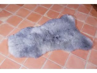 Peau de mouton Islande Poils courts Gris naturel 02