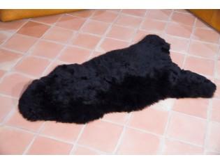 Peau de mouton Islande Poils courts Noir Marron - 1112-0002