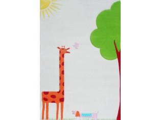 Tapis enfant IVI, Girafe Crème