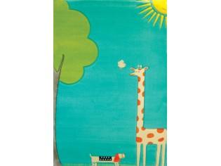 Tapis enfant IVI, Girafe Turquoise