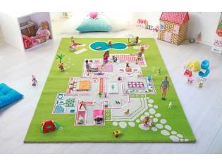 Tapis enfant IVI, 3D Maison Vert