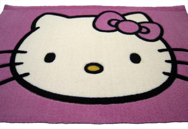 Tapis Hello Kitty Hk01 50x80cm Tapis Enfant Marchand De Tapis Spcialiste Du Tapis Enfant